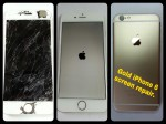 Gold iPhone 6 Screen Repair