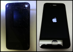 Badly Damages iPhone 4S Screen Replacement