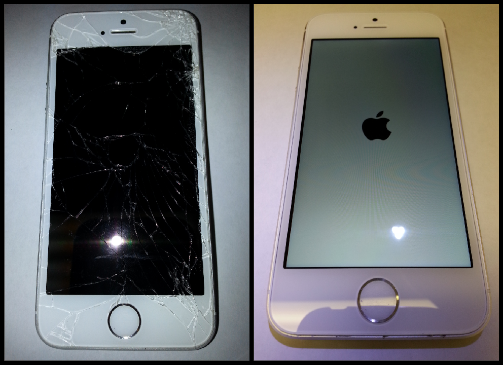 iphone 5s cracked screen repair