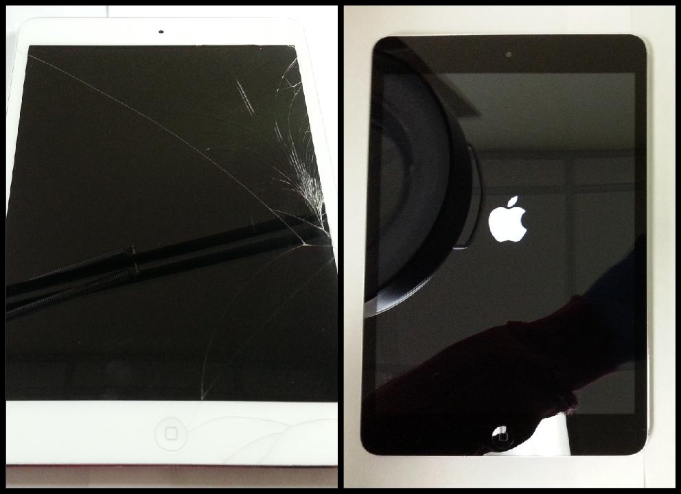 iPad Mini Screen Repair & Color Change   Integrated