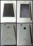 iPhone 4S Front & Back Glass Repair