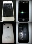 Custom Clear iPhone 4S Repair